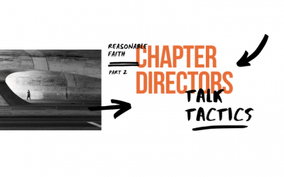 Reasonable Faith Chapter Directors Talk Tactics (2)
